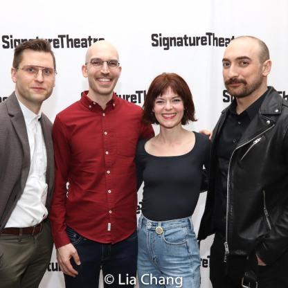 Joe Curnette, Marc Bovino, Stephanie Thompson, Michael Dalto. Photo by Lia Chang