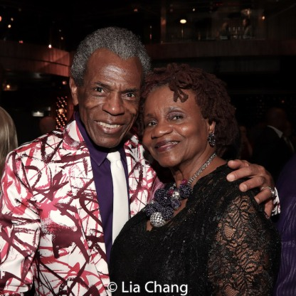 André De Shields and Sylvia Sprinkle-Hamlin. Photo by Lia Chang