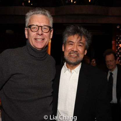 Michael Ritchie and David Henry Hwang. Photo by Lia Chang