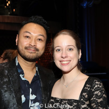 Billy Bustamante and Alyse Alan Louis. Photo by Lia Chang