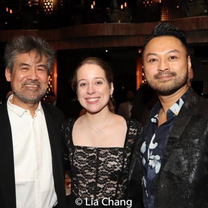 David Henry Hwang, Alyse Alan Louis and Billy Bustamante. Photo by Lia Chang