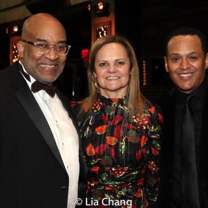 Michael Dinwiddie, Teresa Eyring, Jackie Alexander. Photo by Lia Chang