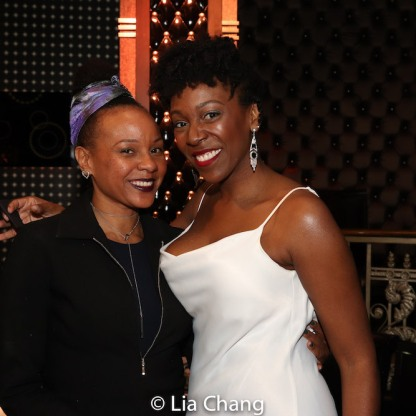 Nambi E. Kelley and Melissa Joyner. Photo by Lia Chang