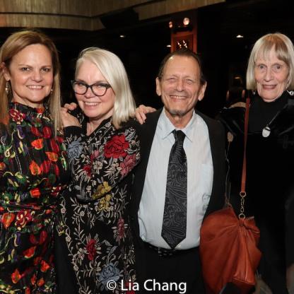 Teresa Eyring, Susan Hilferty, Michael Weller and Tina Howe. Photo by Lia Chang