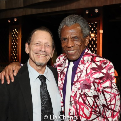 Michael Weller and André De Shields. Photo by Lia Chang