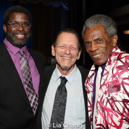 Marshall Jones, III, Michael Weller and André De Shields. Photo by Lia Chang