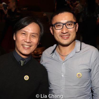 BD Wong and Huang Ruo. Photo by Lia Chang