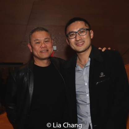 Chay Yew and Huang Ruo. Photo by Lia Chang