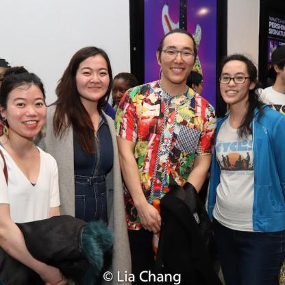Zhu Yi, Kana Hatakeyama Lauren Yi. Photo by Lia Chang