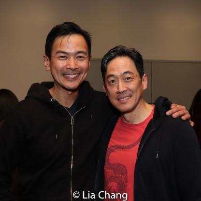 Joel de la Fuente and Paul Juhn. Photo by Lia Chang