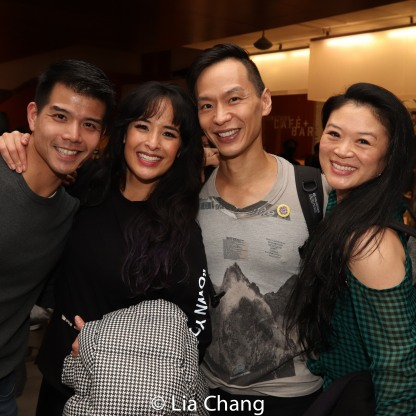 Telly Leung, Courtney Reed, Andrew Cheng and Kristen Faith Oei. Photo by Lia Chang