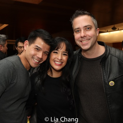 Telly Leung, Courtney Reed and James Babcock. Photo by Lia Chang