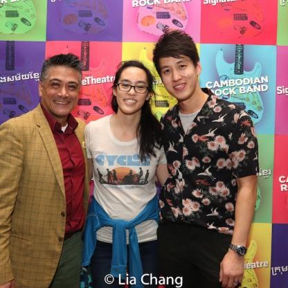 Ariel Estrada, Lauren Yee, Julian Leong. Photo by Lia Chang