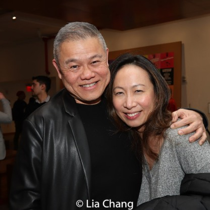 Chay Yew and Jane Lui. Photo by Lia Chang