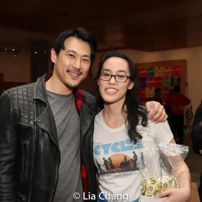 James Chen and Lauren Yee. Photo by Lia Chang