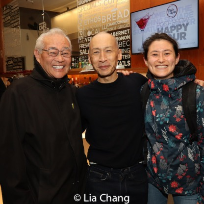 Steven Oei, Francis Jue and Sunny Hitt. Photo by Lia Chang