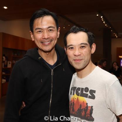 Joel de la Fuente and Joe Ngo. Photo by Lia Chang