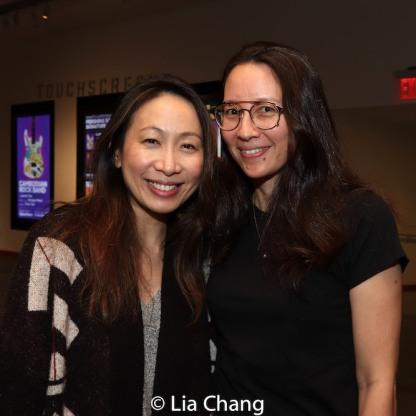 Jane Lui and Ursula Liang. Photo by Lia Chang