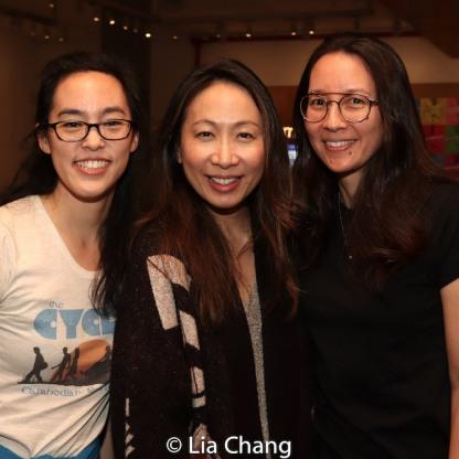 Lauren Yee, Jane Lui and Ursula Liang. Photo by Lia Chang