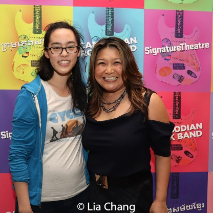 Lauren Yee and Hazel Anne Raymundo. Photo by Lia Chang