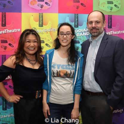 Hazel Anne Raymundo, Lauren Yee and Daniel Siegel. Photo by Lia Chang