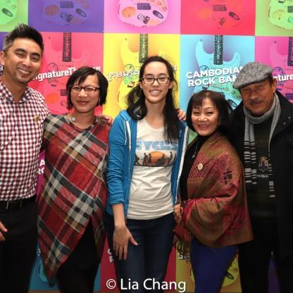 Rick Ngọc Hồ, Valérie Thérèse Bart, Lauren Yee, Nhung Thị Tuyết Nguyễn and Jacques Édouard Bart. Photo by Lia Chang
