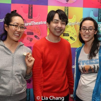 Ellen Ko, Michael Benzinger and Lauren Yee. Photo by Lia Chang