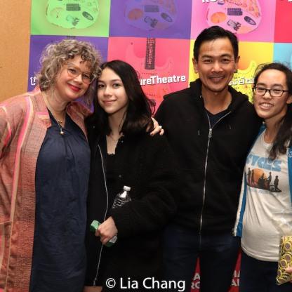 Melissa Bowen, Tabitha de la Fuente, Joel de la Fuente, Lauren Yee. Photo by Lia Chang