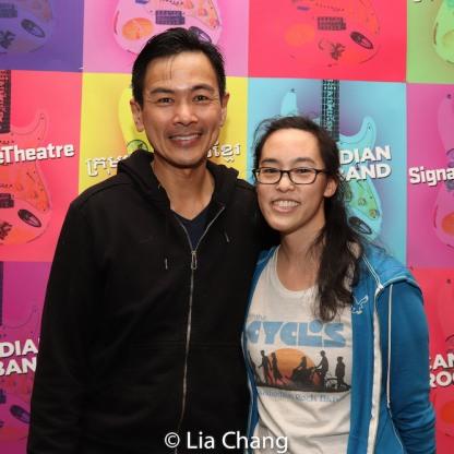 Joel de la Fuente and Lauren Yee. Photo by Lia Chang