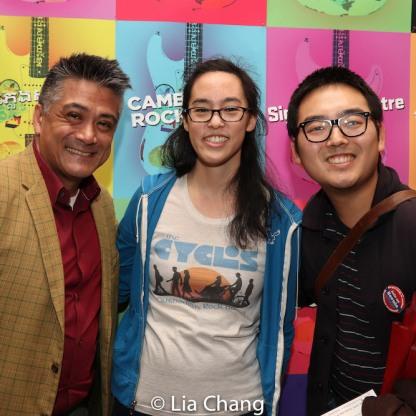 Ariel Estrada, Lauren Yee. Photo by Lia Chang