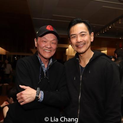 Henry Yuk and Joel de la Fuente. Photo by Lia Chang