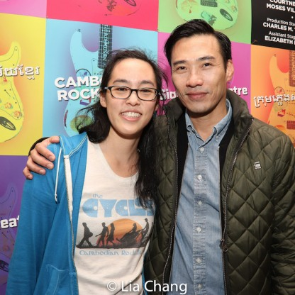Lauren Yee and Grant Chang. Photo by Lia Chang