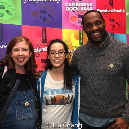 Laurel Brandel, Lauren Yee, Paul Pryce. Photo by Lia Chang
