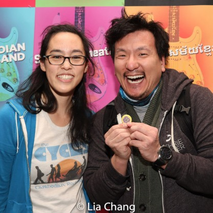 Lauren Yee and Brian Kim. Photo by Lia Chang