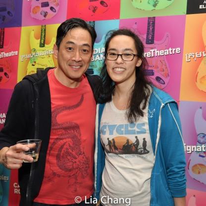 Paul Juhn and Lauren Yee. Photo by Lia Chang