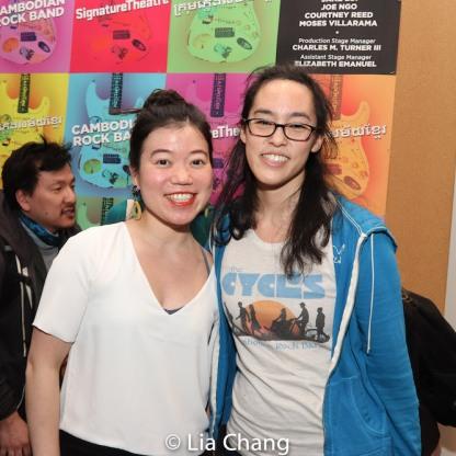 Zhu Yi and Lauren Yee. Photo by Lia Chang