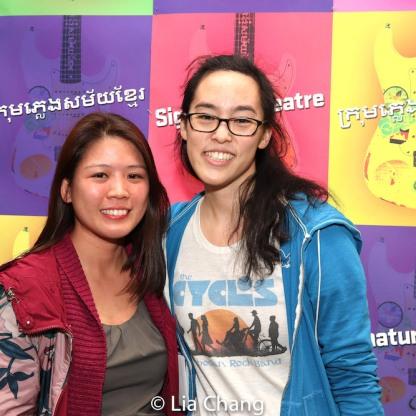 Eunice Chan and Lauren Yee. Photo by Lia Chang
