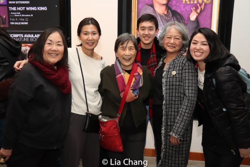 ENDLINGS cast Emily Kuroda, Jiehae Park, Wai Ching Ho, Brian Ge, Jo Yang, Sarah Shin. Photo by Lia Chang