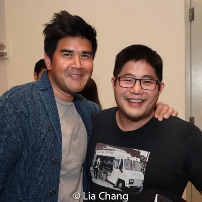 Pun Bandhu and Mike Lew. Photo by Lia Chang
