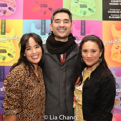 Courtney Reed, Kevin Schuering and Diane Phelan. Photo by Lia Chang