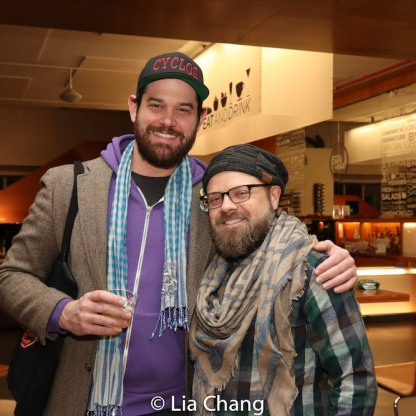 Matt MacNelly and Mikhail Fiksel. Photo by Lia Chang