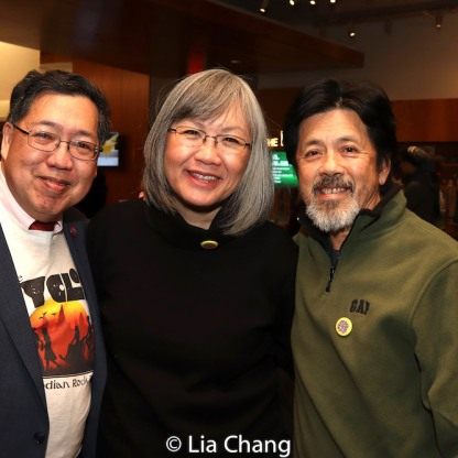 Frank Yee, June Jee and Tony Jee. Photo by Lia Chang