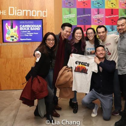 Jaygee Macapugay, James Seol, Jeena Yi, Lauren Yee, Daniel K. Isaac, Joe Ngo and David Shih. Photo by Lia Chang