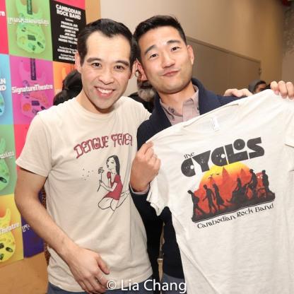 Joe Ngo and Daniel K. Isaac. Photo by Lia Chang