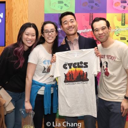 Jeena Yi, Lauren Yee, Daniel K. Isaac and Joe Ngo. Photo by Lia Chang