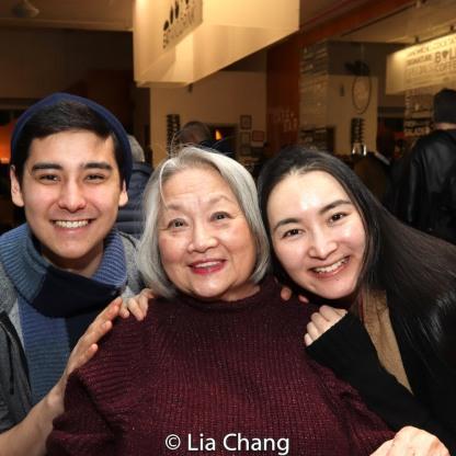 Ellis Gage, Virginia Wing, Xiaoqing Zhang. Photo by Lia Chang
