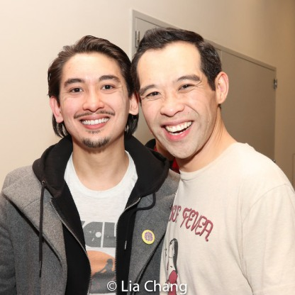 Jonathan Castanien and Joe Ngo. Photo by Lia Chang