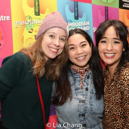Alyse Alan Louis, Geena Quintos and Courtney Reed. Photo by Lia Chang
