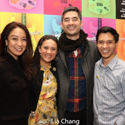 Jaygee Macapugay, Diane Phelan, Kevin Schuering and Michael Protacio. Photo by Lia Chang