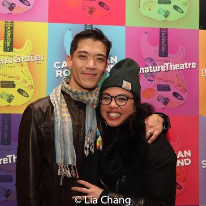 Moses Villarama and Maria-Christina Oliveras. Photo by Lia Chang